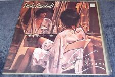 1977 LINDA RONSTADT SIMPLE DREAMS LP, VGC, ELEKTRA ASYLUM RECORDS, + LYRICS