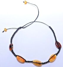 Natural Genuine Authentic Real Baltic Amber Handmade Adjustable Size Bracelet