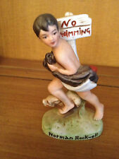 Norman Rockwell No Swimming figurine