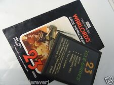 Atari 2600 Warlords Sears with Manual for the Atari 2600 Video Game System
