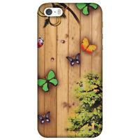 AMZER  Bonsai Butterfly HARD Protector Case Snap On Slim Phone Cover Accessory