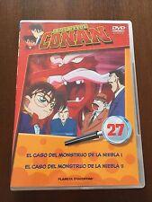 DETECTIVE CONAN DVD 27 - 1 DVD - 2 CAPS - 50 MIN - JONU MEDIA PLANETA DEAGOSTINI