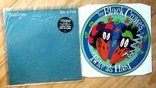 EX/EX THE BLACK CROWES: TWICE AS HARD VINYL PIC PICTURE DISC DEFAP 712