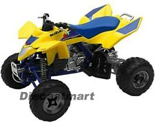 NEWRAY 2009 1:12 SUZUKI QUADRACER R450 DIECAST ATV ALL TERRAIN VEHICLE YELLOW