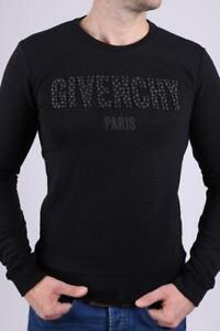 Amazing Black Givenchy  Men'S Crewneck Sweater Size XL