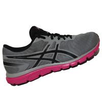 ASICS WOMENS Shoes Gel-Zaraca 5 - Aluminum, Black & Hot Pink - T6G8N-9690