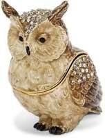 Bejeweled Hootie Owl Trinket Box