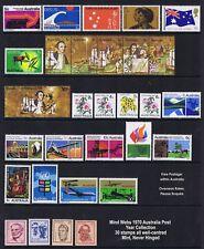 Australian Decimal Stamps 1970 Australia Post Year Set 30  MNH