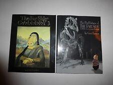Gary Larson Lot of 2 THE FAR SIDE Books, PreHistory & Gallery 3, PB B145