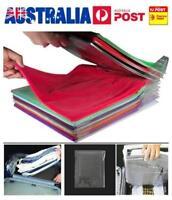Clothes Folder Folding Board Magic Fast Laundry Organizer Travel Closet AU