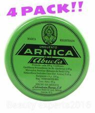 4 PACK!! Pomada Arnica De La Abuela / Ointment 30g Each. Unguento