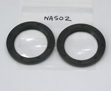 Pair front hub oil seal Vauxhall Velox Cresta PA PB PC (Payen NA502 C939) Victor