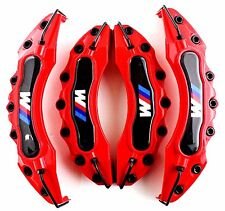 Red BMW M Brake Caliper Cover Universal Disc Racing Front Rear Power E30 36 46..