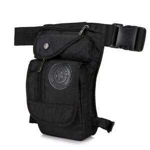Mens Drop Leg Bag Waist Fanny Pack Belt Hip Bum Military Tactical Outdoor