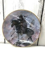 """The Franklin Mint Spirit of the Storm 8"""" Western Heritage Plate Native American"""
