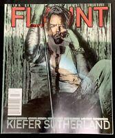 #41 FLAUNT Magazine, A Few Good Men, Kiefer Sutherland, Fashion Style Culture