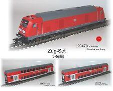 Aus Märklin 29479 Zugset mit Diesellok BR 245 + 2 Doppelstockwagen DB AG #NEU#