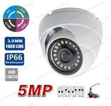 HD-TVI 5MP CVI 4.0MP Dome Camera SONY CMOS IR Indoor outdoor CCTV Camera 3.0mm