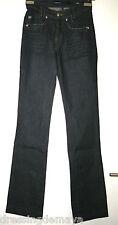 Jeans bleu foncé coupe droite MISS SIXTY T 25 = petit 36 Neuf
