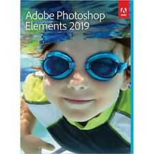 Adobe Photoshop Elements 2019 CD Windows and Mac
