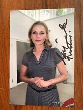Małgorzata Foremniak Actress Photo Autograph Hand Signed Authentic 9 x 12 cm.