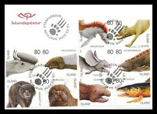 Iceland 2009 FDC, Fabulous Animals, Souvenir Sheet of 10, Lot # 1.