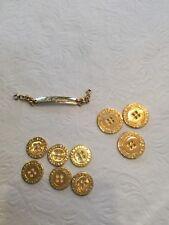 Les Copains Gold Tone Buttons 9