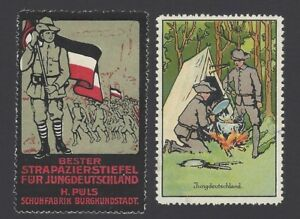 Germany c.1910/12 Scout forerunner labels (2)