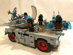 LEGO parts only - Star Wars FIRST ORDER TANK + 4 TROOPERS - my design