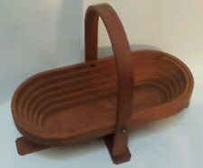 'Once A Tree' Expandable Wood Bowl for fruit or bread Made In Camden, Maine USA