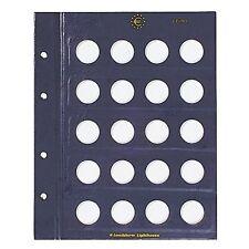 VISTA 2 feuilles numismatiques pour pièces de 2 euros  Réf  312494