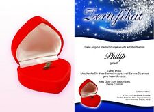 Echte Sternschnuppe - Valentinstags Geschenk - Hochzeitsgeschenk - Geschenkidee