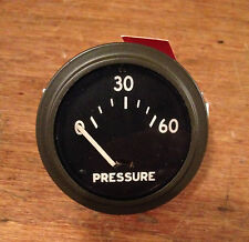 Army Jeep Tank Truck Generator Hotrod Hot Rod Oil Pressure Gauge
