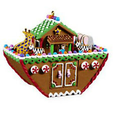 2009 Hallmark Ornament NOAH'S ARK Gingerbread Candy