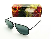 0a60421a007f Maui Jim Beaches Mj541-2m Sunglasses Matte Black Frame Neutral Grey Lens  57mm