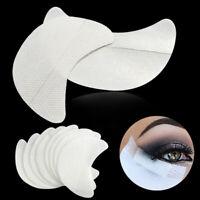100pcs Eyeliner Fard Outil Tapis Sous les Yeux Oeil Pad Extension De Cils Patch