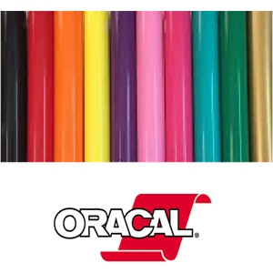 """Oracal 651 Permanent Self Adhesive Craft Vinyl 24"""" x 30ft and 50ft Roll(s)"""