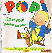 POPI  N° 128 * au parc petit ours brun  Jeu loto Imagier * jeune enfant 18 mois