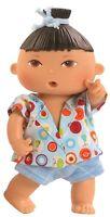 Spiel Puppe Trink Baby Näß Baby Guido ca 21 cm von Paola Reina Art Nr 3584