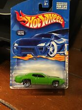 2001 Hot Wheels First Editions 1971 Plymouth GTX Green #26