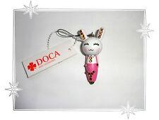 Bijou de Portable Fantaisie Lapin Blanc Rose Strass Stylo  Doca Fashion Jewelry