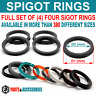 Spigot Rings FULL SET OF 4 Hub Centric Rings Spacer size to choose from 300+GIFT