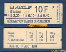Carnet - 1501 - Type Marianne de Delacroix - NEUF
