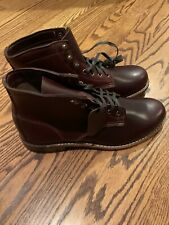 wolverine 1000 mile boots 10 New In Box. Cordovan.