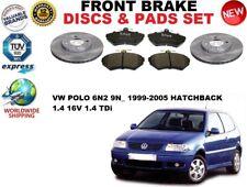 für VW Polo 1.4 Fließheck 6N2 9N_99-05 vorne Set Bremsscheiben+BREMSBELÄGE
