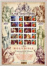 2011 History Of Britain. King James Bible 1611-2011. Smiler Sheet.