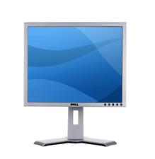 Monitor Dell UltraSharp 1907FP, 19 Zoll, silber, Pivot, DVI, VGA, USB, USB B