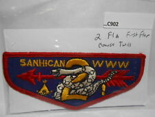 LODGE 2 SANHICAN F1-A FIRST FLAP (COURSE TWILL) C902