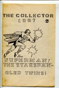 Collector #2 1967-Superman cove--Star Spangled Comics review-8 pages-This is ...