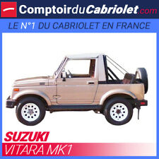 Bikini pour 4x4 Suzuki Vitara MK1 cabriolet en Vinyle de couleur blanche